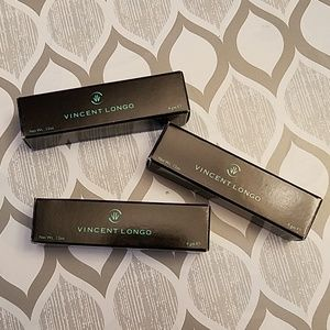 Bundle of 3 Vincent Longo lipsticks NIB